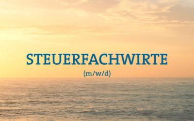 STEUERFACHWIRTE GESUCHT